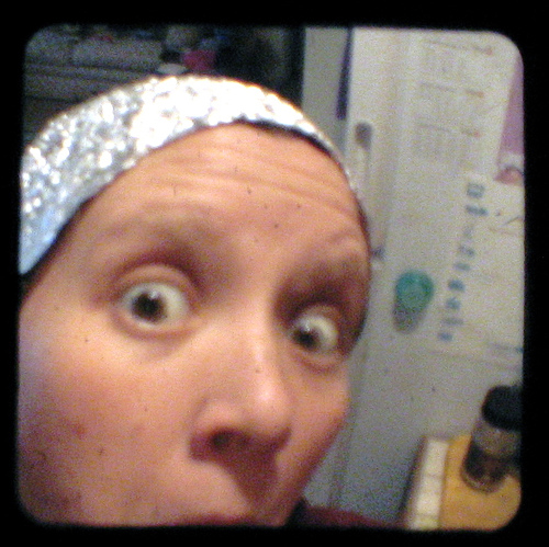 Conspiracy Theorist with Tinfoil Hat
